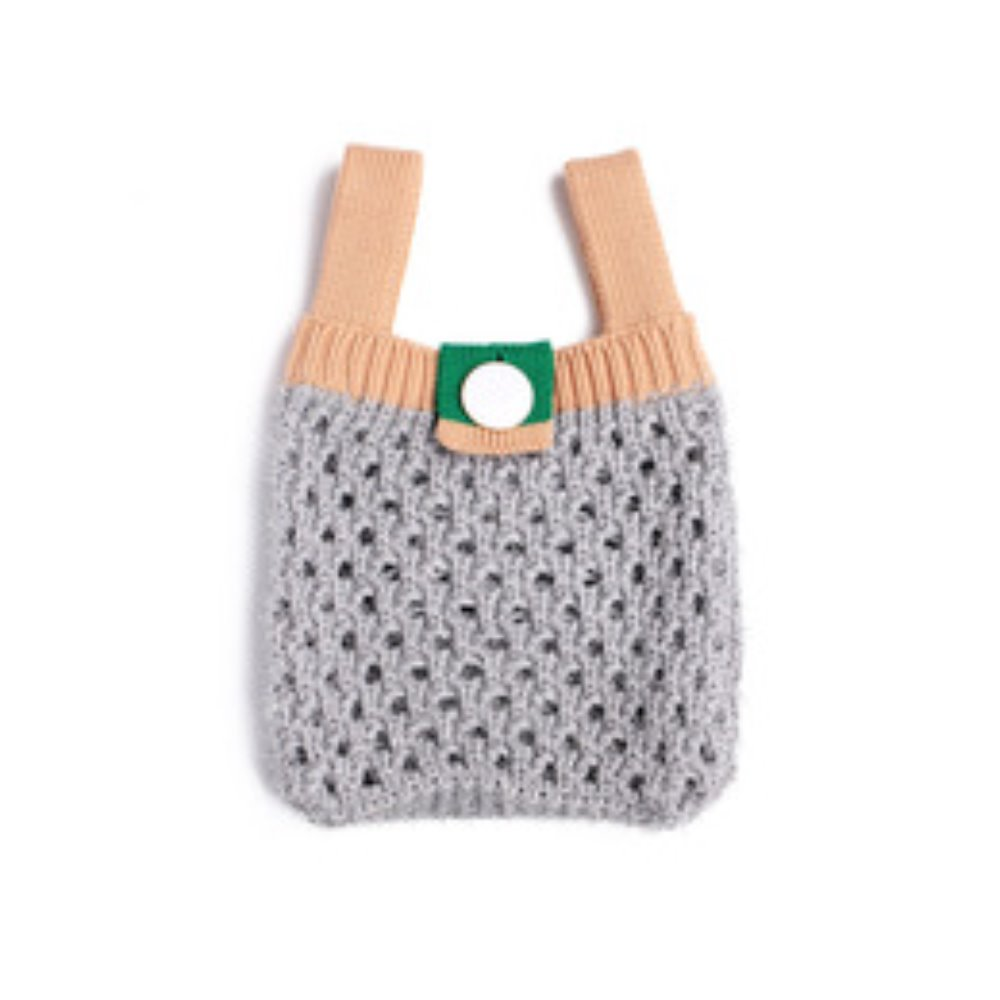twinkle color mini bag grey