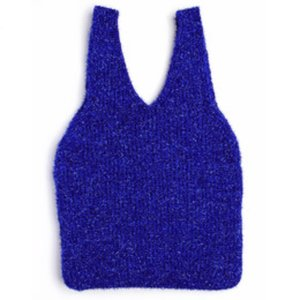 twinkle knit  bag blue